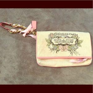 Authentic COACH clutch purse
